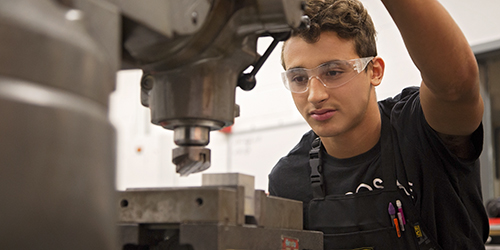 Cut a career in metalworking.