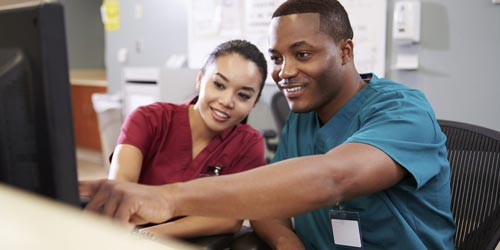 Become a medical assistant.