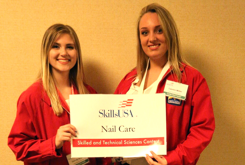 Ictc Cosmetology Student Awarded First Place In State For Nail Care